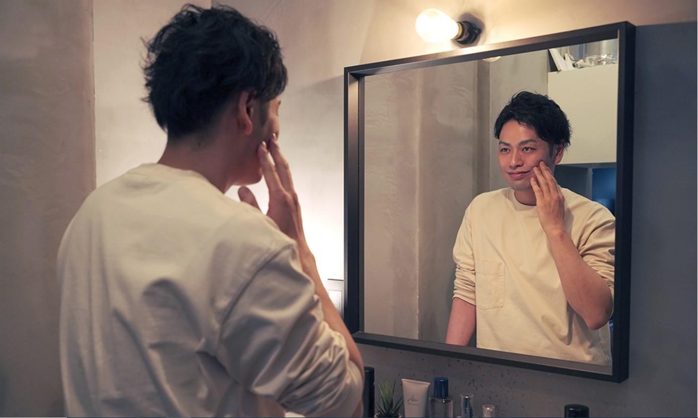 メンズ化粧品「Alom」イメージモデル