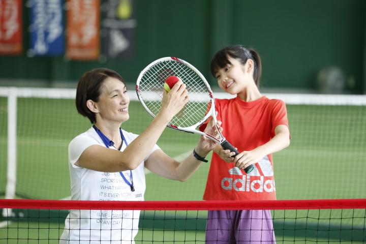 ファミリアテニススクール イメージモデル